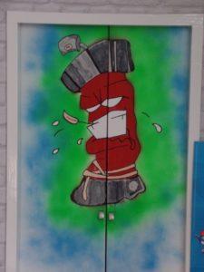 Sjaak doet het zelf graffiti